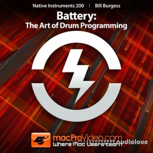 MacProVideo Native Instruments 200 Battery The Art of Drum Programming