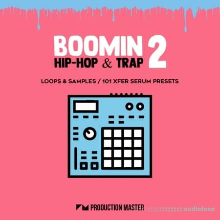 Production Master Boomin Hip Hop And Trap 2 WAV Synth Presets