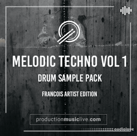 PML Melodic Techno Drum Sample Pack WAV