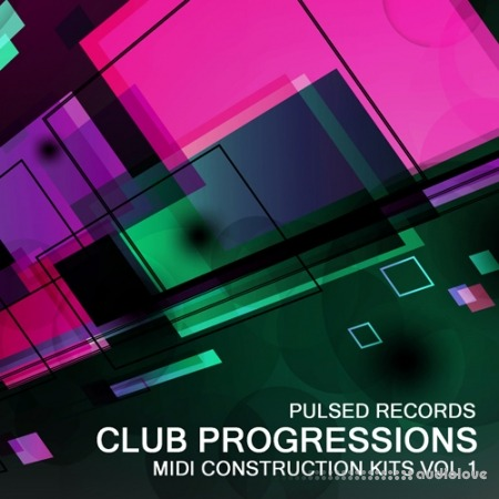 Pulsed Records Club Progressions Vol.1 MiDi