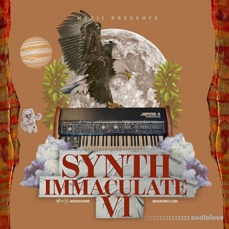 MSXII Sound Synth Immaculate 6 WAV