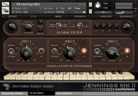 Rhythmic Robot Audio Jennings Mk2 KONTAKT
