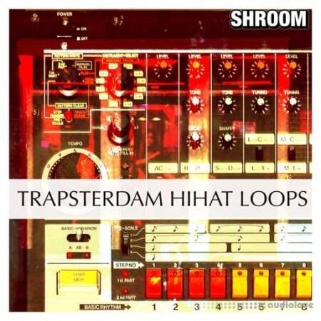 Shroom Trapsterdam Hihat Loops WAV