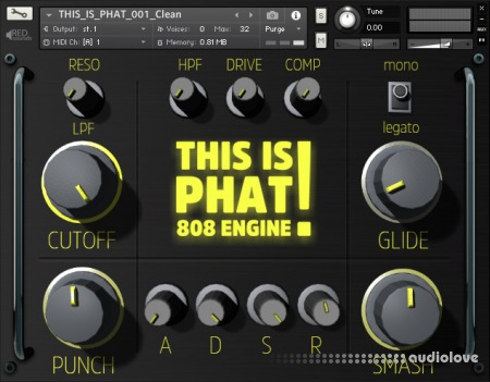 Red Sounds This Is Phat 808 Engine KONTAKT