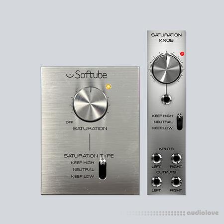 Softube Saturation Knob v1.3.13 Build 144258 WiN