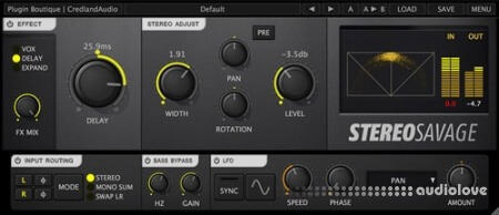 Credland Audio Stereo Savage v1.2.1 WiN MacOSX