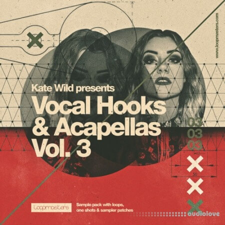 Loopmasters Kate Wild Vocal Hooks and Acapellas Vol.3 MULTiFORMAT