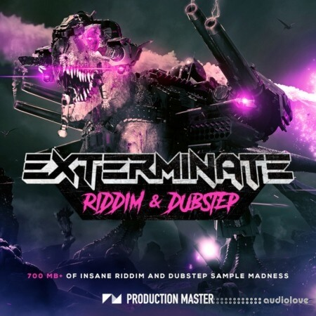 Production Master Exterminate (Riddim And Dubstep) WAV Synth Presets