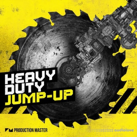 Production Master Heavy Duty Jump Up WAV Synth Presets