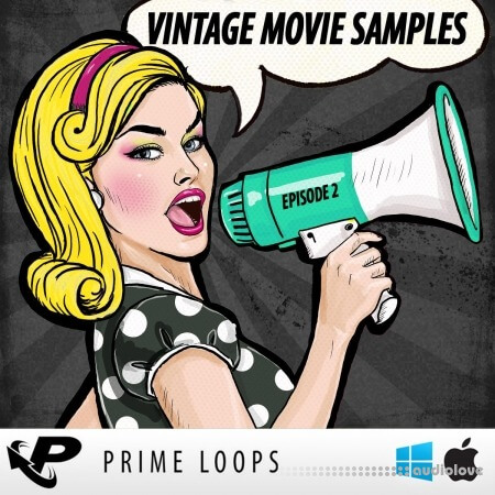 Prime Loops Vintage Movie Samples: Episode 2 MULTiFORMAT