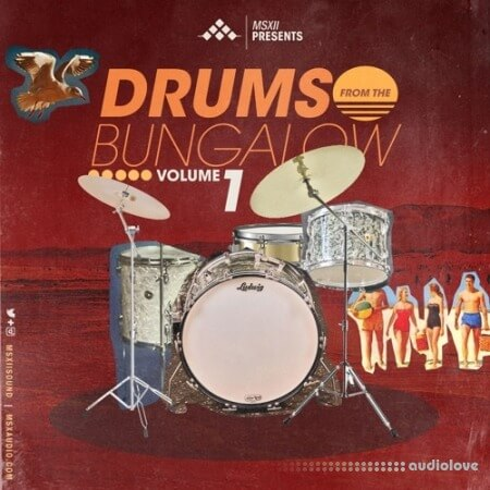 MSXII Drums From The Bungalow Vol.1 WAV