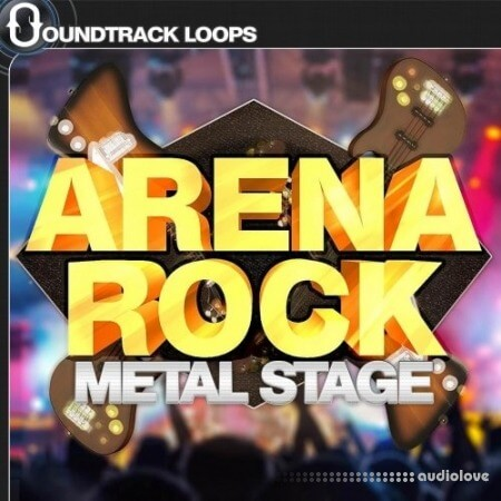 Soundtrack Loops Arena Rock Metal Stage WAV