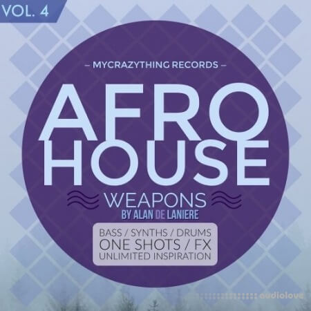 Mycrazything Records Afro House Weapons 4 WAV