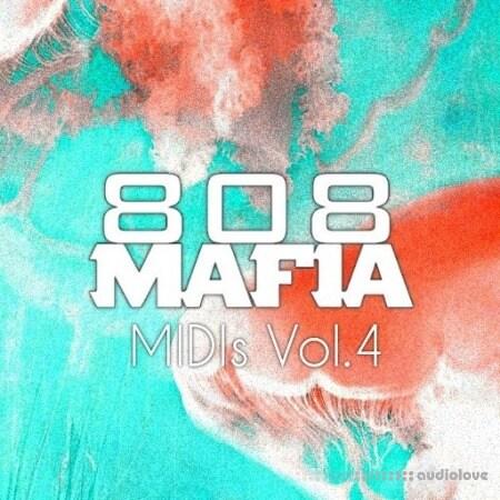 PVLACE 808 Mafia MIDIs. Vol.4 MiDi