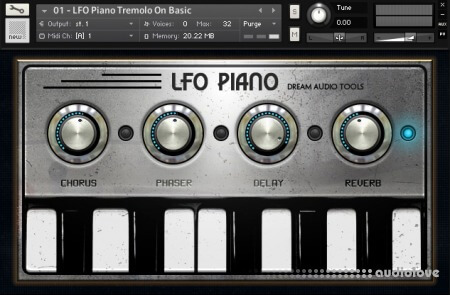 Dream Audio Tools The LFO Piano v1.5 KONTAKT