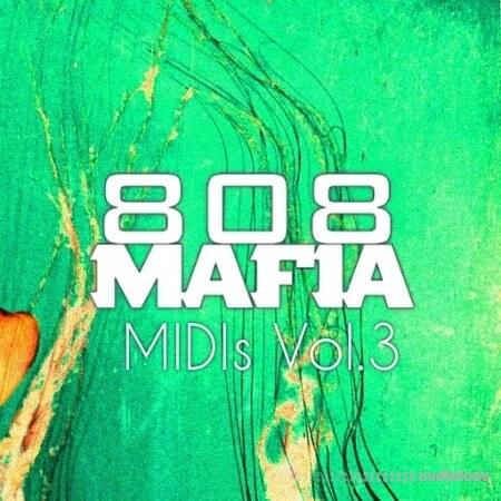 PVLACE 808 Mafia MIDIs. Vol.3 MiDi