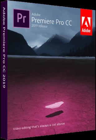 Adobe Premiere Pro CC 2019 v13.0.3.8 / v13.0.3 WiN MacOSX