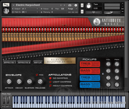 Antiquity Music Electric Harpsichord KONTAKT