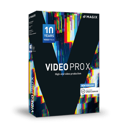 MAGIX Video Pro X10 v16.0.2.317 (x64) WiN