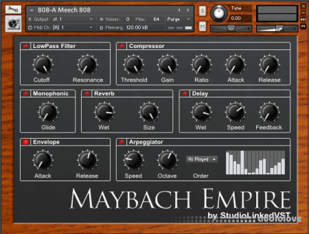 StudioLinkedVST Maybach Empire KONTAKT