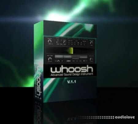 Melted Sounds Whoosh v1.1 Reaktor
