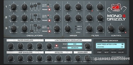 CFA-Sound MonoGrizzly v2.0 WiN 32bit RETAiL WiN