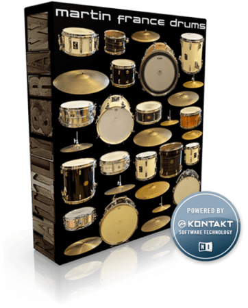 Rattly and Raw Martin France Drums KONTAKT