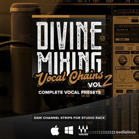 Sean Divine Productions Divine Mixing Vocal Chains V2 v1.2 DAW Presets