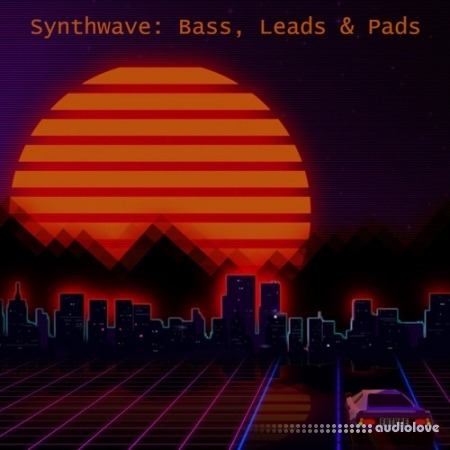 Glitchedtones Synthwave: Bass, Leads and Pads