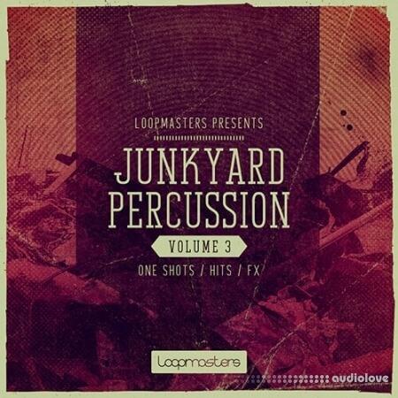 Loopmasters Junkyard Percussion Vol.3 MULTiFORMAT