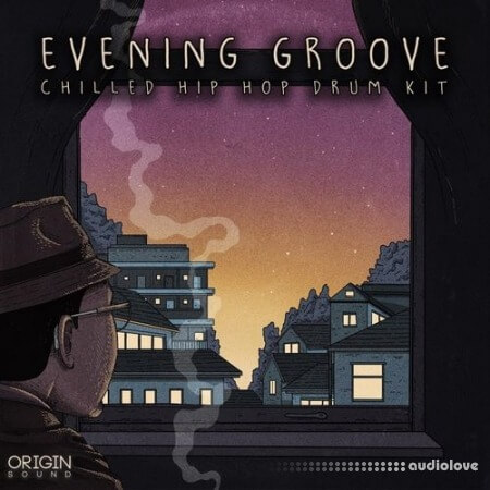 Origin Sound Evening Groove Chilled Hip Hop Drum Kit