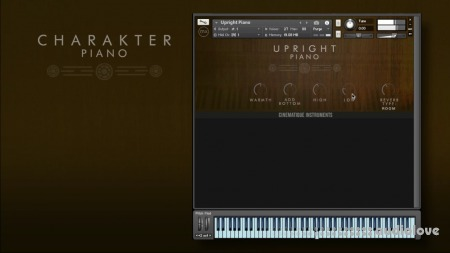 Cinematique Instruments Charakter Piano Collection KONTAKT