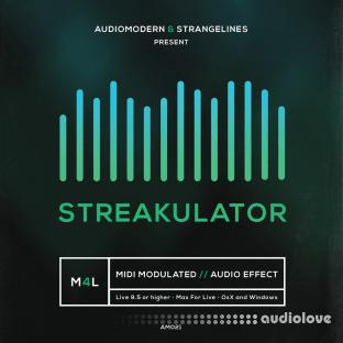 Audiomodern StrangeLines STREAKULATOR