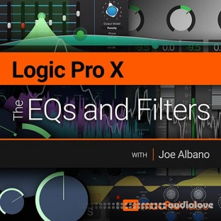 MacProVideo Logic Pro X 201 The EQs and Filters