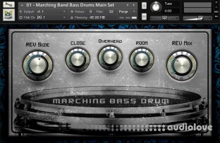 Dream Audio Tools MBD Marching Bass Drums
