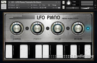 Dream Audio Tools The LFO Piano