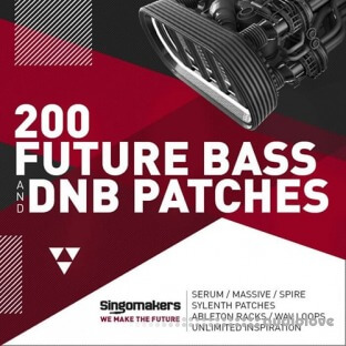 Singomakers 200 Future Bass and DnB Patches