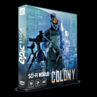 Epic Stock Media Sci-fi World: Colony