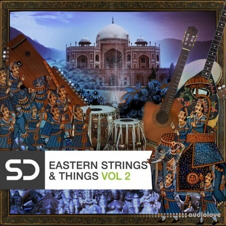 Sample Diggers Eastern Strings and Things 2 WAV