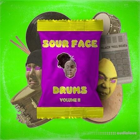 Drivensounds Sour Face Drums Volume 2 WAV