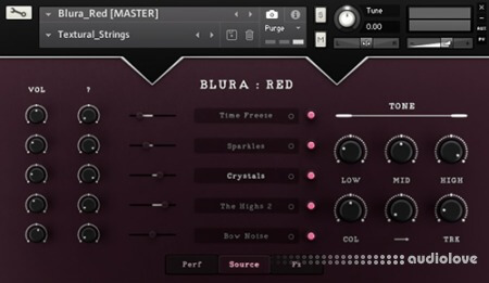 Sound Aesthetics Sampling Blura Red v1.0 KONTAKT