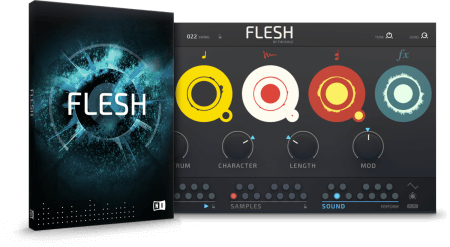 Native Instruments Flesh v1.0.0 WiN MacOSX