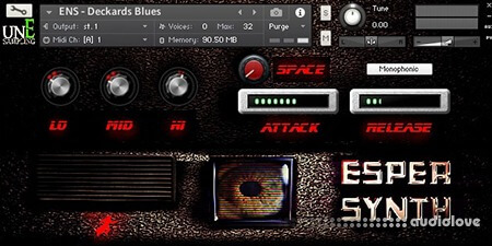 unEarthed Sampling Esper Synth KONTAKT