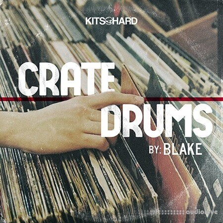 Drivensounds Crate Drums WAV
