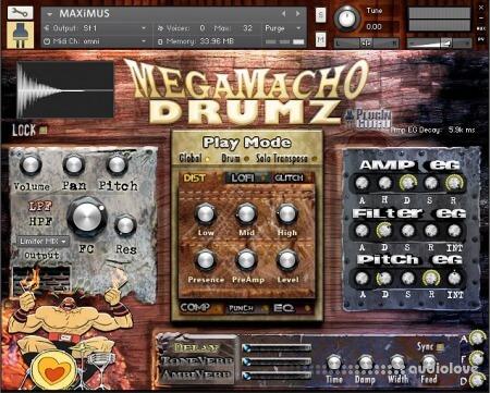 PlugInGuru MegaMacho Drums v1.5 KONTAKT