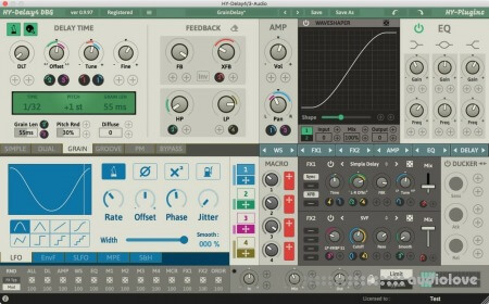 HY-Plugins HY-Delay4