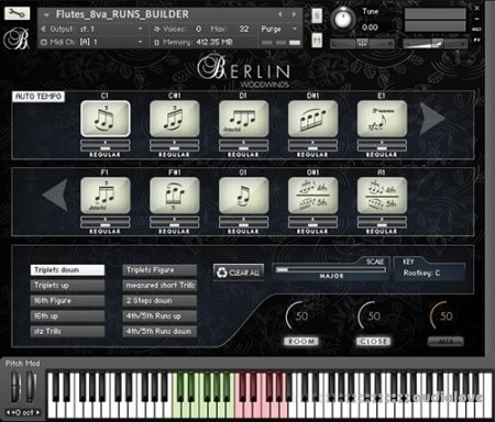 Orchestral Tools Berlin Woodwinds EXP D SFX Woodwind Effects KONTAKT