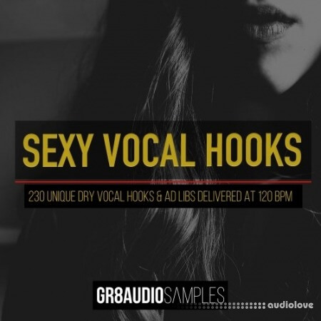 GR8 Audio Samples Sexy Vocal Hooks WAV