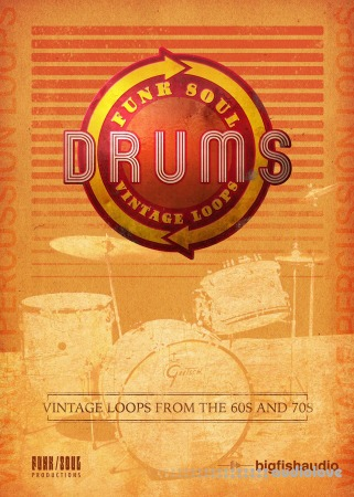 Big Fish Audio Funk Soul Vintage Drum Loops