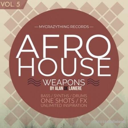 Mycrazything Sounds Afro House Weapons 5 WAV